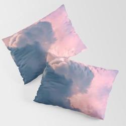 Thunderhead King Size Pillow Sham by Grandeduc - STANDARD SET OF 2 - Cotton