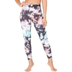 High Rise Midi Leggings - Pink - Onzie Pants found on MODAPINS from lyst.com for USD $69.00