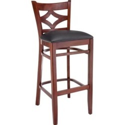 Diamond Bar Stool (Natural), Black found on Bargain Bro Philippines from Overstock for $161.49