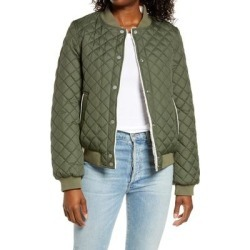 UGG Reversible Quilted & Faux Shearling Bomber Jacket - Green - Ugg Jackets found on Bargain Bro from lyst.com for USD $79.80