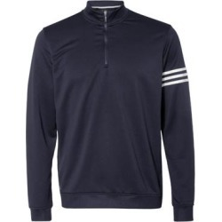 Adidas Mens's Athletic 3-Stripes French Terry Full-Zip Jacket found on Bargain Bro from Overstock for USD $45.59