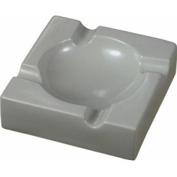 Visol Products Donovan Ceramic Cigar Ashtray in Gray, Size 2.75 H x 8.25 W x 8.25 D in | Wayfair VASH903GY found on Bargain Bro Philippines from Wayfair for $29.50