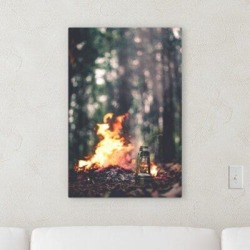 Millwood Pines 'Outside Artifacts' Photographic Print on Wrapped Canvas Canvas & Fabric in Brown/Green, Size 48.0 H x 16.0 W x 2.0 D in   Wayfair found on Bargain Bro Philippines from Wayfair for $216.99