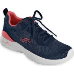 Women's Skechers Skech-Air Dynamite, Navy/Coral 11 M Medium, Fabric Lining found on Bargain Bro from Blair.com for USD $45.59