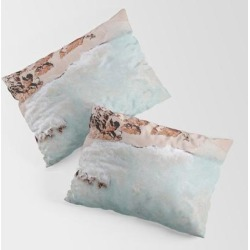 King Size Pillow Sham | Seashore Ii / Australia by Mauikauai - STANDARD SET OF 2 - Cotton - Society6 found on Bargain Bro from Society6 for USD $30.39