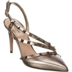 Valentino Rockstud 90 Leather Pump - S25 (36.5), Women's found on Bargain Bro Philippines from Overstock for $713.90