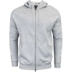 ASICS Logo Sweat Full Zip Hoodie Mens Casual Hoodie - Grey (L), Men's, Gray found on MODAPINS from Overstock for USD $29.95