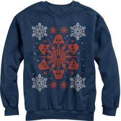 Fifth Sun Men's Sweatshirts and Hoodies NAVY - Navy Star Wars Vader Holiday Fleece Sweatshirt - Men found on Bargain Bro from zulily.com for USD $21.27