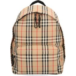 Vintage Check Backpack - Natural - Burberry Backpacks found on Bargain Bro from lyst.com for USD $628.52