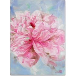 Trademark Fine Art Pink Peonie II Canvas Wall Art, 24X18 found on Bargain Bro Philippines from Kohl's for $87.99
