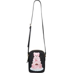 Cake Teddy Bear Crossbody Bag - Black - Moschino Shoulder Bags found on MODAPINS from lyst.com for USD $491.00