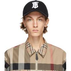 Black Tb Baseballl Cap - Black - Burberry Hats found on Bargain Bro from lyst.com for USD $296.40