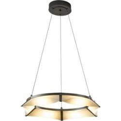 Hubbardton Forge Bento 32 Inch 6 Light LED Chandelier - 138650-1005 found on Bargain Bro India from Capitol Lighting for $4268.00