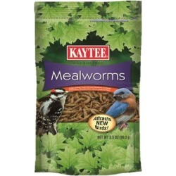 Kaytee Wild Bird Mealworm Pouch, 3.5 oz. found on Bargain Bro Philippines from petco.com for $4.29