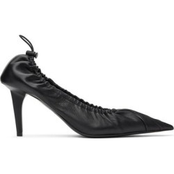 Black Scrunch Knife Pumps - Black - Balenciaga Heels found on Bargain Bro Philippines from lyst.com for $795.00