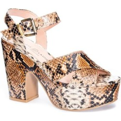 Bali Platform Sandal - Brown - Chinese Laundry Heels found on Bargain Bro Philippines from lyst.com for $80.00