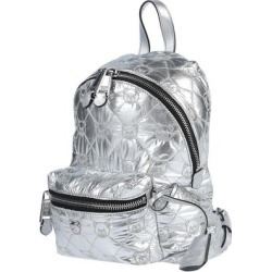 Backpacks & Bum Bags - Metallic - Moschino Backpacks found on Bargain Bro from lyst.com for USD $321.48