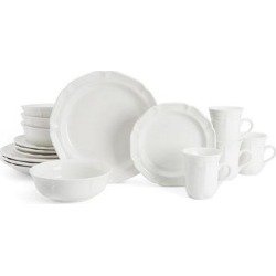 Mikasa French Countryside 16 pc. Dinnerware Set, White found on Bargain Bro Philippines from Kohl's for $99.99