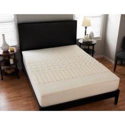 Splendorest 3-inch 5 Zone Memory Foam Mattress Topper (Full), Black found on Bargain Bro from Overstock for USD $51.67