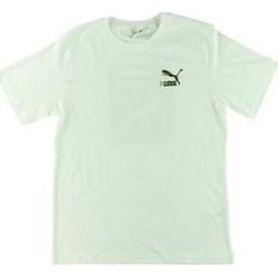 Puma Mens Wild Pack T-Shirt Running Fitness (White - XL), Men's(cotton) found on Bargain Bro from Overstock for USD $9.99