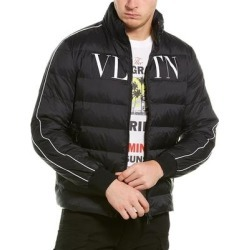 Valentino Stripe Jacket (46), Men's, Black(cotton) found on Bargain Bro Philippines from Overstock for $758.99