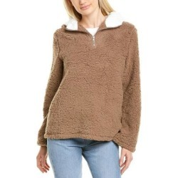 Luna Tuccini Plush Pullover (Brown - M), Women's(cotton) found on Bargain Bro India from Overstock for $19.80