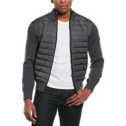 Canada Goose Hybridge Wool Down Bomber Jacket (S), Men's, Pink found on MODAPINS from Overstock for USD $549.99