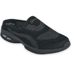 Women's Skechers Commute Time Knit Slip-Ons, Black 9 W Wide found on Bargain Bro from Blair.com for USD $53.19