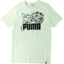 Puma Mens T-Shirt Running Fitness (Puma White - L), Men's(cotton) found on Bargain Bro from Overstock for USD $11.66