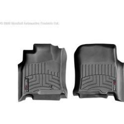 WeatherTech Floor Mat Set, Fits 2003-2009 Toyota 4Runner, Primary Color Black, Material Type Molded Plastic, Model 440111 found on Bargain Bro from northerntool.com for USD $97.24