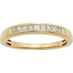 IGL Certified Diamond Wedding Ring in 14k Gold (1/4 Carat T.W.), Women's, Size: 9, White found on MODAPINS from Kohl's for USD $646.00