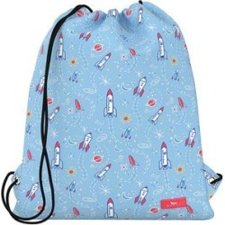 SCOUT Bags Backpacks Astro - Blue Astro Pup Old School Drawstring Backpack found on Bargain Bro India from zulily.com for $19.99