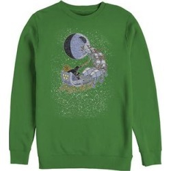 Fifth Sun Men's Sweatshirts and Hoodies KELLY - Star Wars Kelly Vader Sleigh Crewneck Sweatshirt - Men found on Bargain Bro Philippines from zulily.com for $24.72