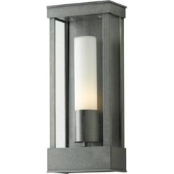 Hubbardton Forge Portico 14 Inch Tall 1 Light Outdoor Wall Light - 304320-1027 found on Bargain Bro from Capitol Lighting for USD $752.40