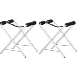 Arlmont & Co. Universal Kayak Storage Stand & Rack For Cleaning, Storing, & Maintenance w/ Aluminum Frame & Folding Design in White | Wayfair found on Bargain Bro Philippines from Wayfair for $53.54