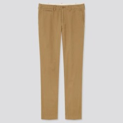 UNIQLO Men's Vintage Regular-Fit Chino Pants, Brown, 28 in. found on Bargain Bro from Uniqlo for USD $7.52