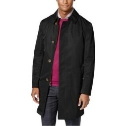 Calvin Klein Mens Melford Raincoat, Black, 42 Long (Black - 42 Long), Men's(polyester, solid) found on Bargain Bro Philippines from Overstock for $221.90
