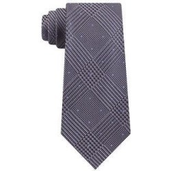 Michael Kors Men's Plaid Micro Flecks Neck Tie Gray Size Regular (Grey), Women's found on Bargain Bro India from Overstock for $19.50