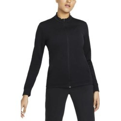 Dri-fit Uv Victory Full Zip Golf Top - Black - Nike Tops found on Bargain Bro from lyst.com for USD $68.40