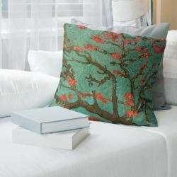 Porch & Den Vincent Van Gogh 'Almond Blossom' Throw Pillow found on Bargain Bro from Overstock for USD $41.03