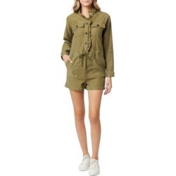 Utility Romper - Green - Hudson Jumpsuits found on MODAPINS from lyst.com for USD $245.00