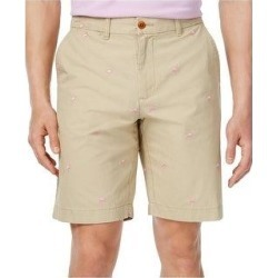Tommy Hilfiger Mens Flamingo Casual Walking Shorts (Brown - 52), Men's(cotton, solid) found on Bargain Bro from Overstock for USD $35.42