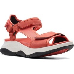 Clarks Wave 2.0 Skip Sandal - Pink - Clarks Flats found on Bargain Bro India from lyst.com for $110.00