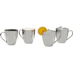 Mikasa 4-pc. Stainless Steel Mug Set, Multicolor found on Bargain Bro from Kohl's for USD $91.19