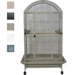 A&E Cage Company Black Macaw Mansion Dometop Bird Cage, 40