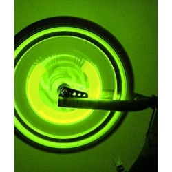 Tech Zebra Green - Green LED Wheel Lights found on Bargain Bro from zulily.com for USD $6.83