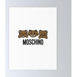 Moschino Mini Art Print by Storeusa - Without Stand - 3