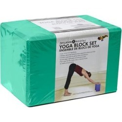 PurAthletics Resistance Bands Emerald - Emerald Yoga Block - Set of Two found on Bargain Bro Philippines from zulily.com for $13.99