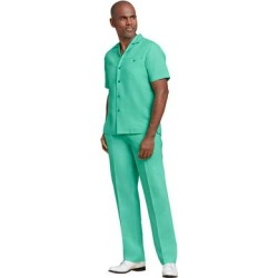 Stacy Adams Men's Linen Set (Size XXXL) Green, Cotton,Linen found on Bargain Bro Philippines from ShoeMall.com for $79.99