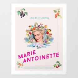 Art Print | Marie Antoinette Alternative Movie Poster by Nnenna Uduh - X-Small - Society6 found on Bargain Bro India from Society6 for $15.19